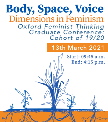 body space voice poster