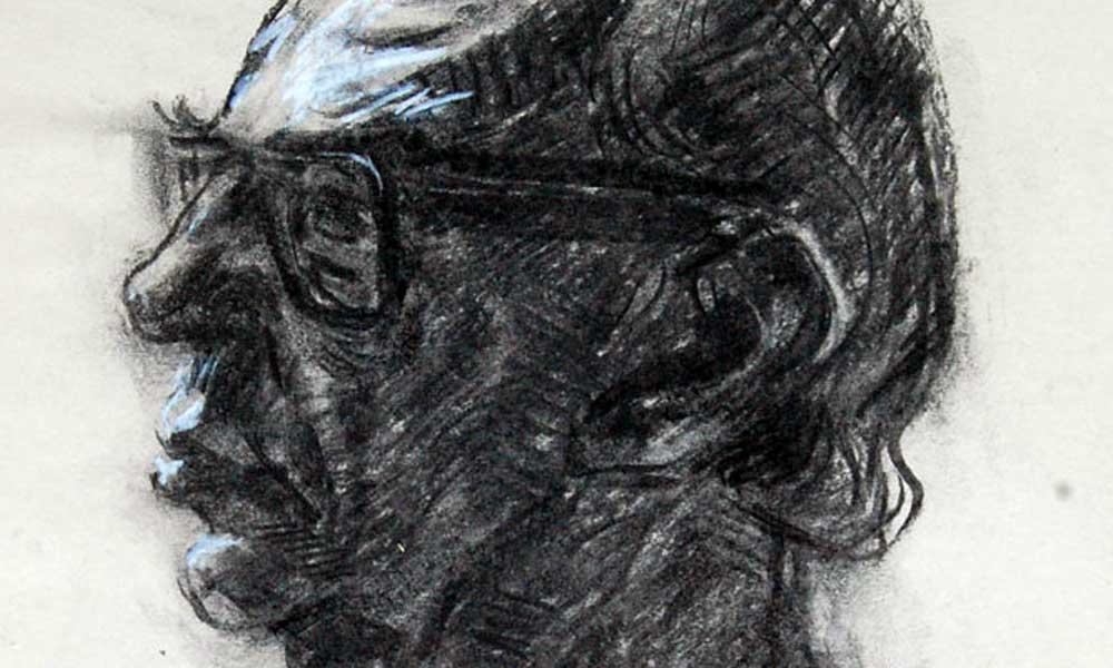 Isaiah Berlin Drawing